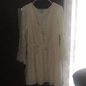 White lace American Eagle Dress